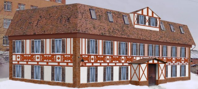 Проекты реконструкции фасадов