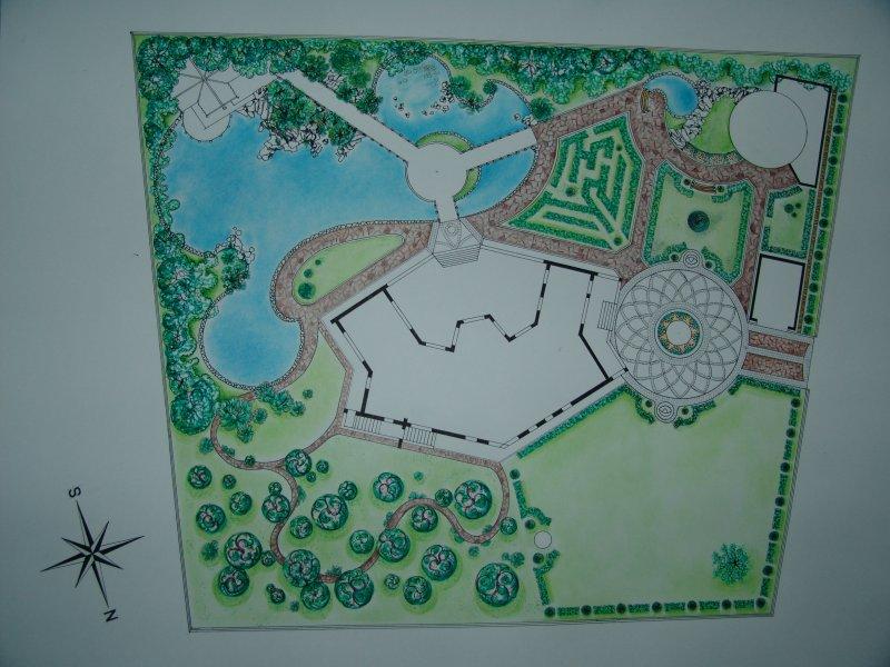 Проект дизайн ландшафт
